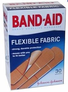 BAND-AID COM 10 UNIDADES